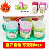 厂家直销厨房用品玻璃套装油壶调料瓶组合环保调料罐控油调味罐