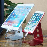 新款铝合金手机平板支架金懒人床头支架iPhone iPad平板直播通用底座