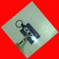 个性定制钥匙链 PVC发光钥匙扣 环保带灯钥匙链
