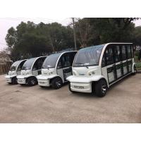 带全玻璃门11座观光车|电动的加装转向助力|免维护电池