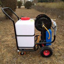 厂家直销自动卷管喷雾器60L农药喷洒机绿化杀虫喷药机