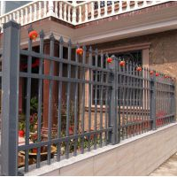 防爬别墅围墙护栏庭院围墙锌钢铁艺栅栏公司厂区防护栏