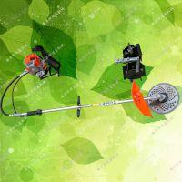 背负式手持汽油割草机 专业生产小型除草机 背负式水稻芦苇收割机