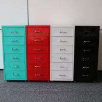 钢制六抽柜 员工个人小型抽屉柜 收纳柜 文件储物柜 万瑞厂家直销