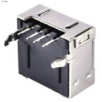 USB 2.0 A母全包单层插板 4P 弯脚 90度DIP PCB-创粤