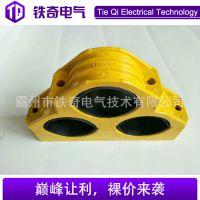 JGPD品字型玻璃钢电缆夹 SMC三芯电缆固定夹具 玻璃钢电缆抱箍
