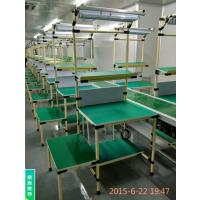 东莞帝腾供应防静电线棒工作桌/多种规格柔性管检验台