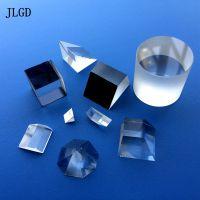 光学三棱镜厂家供应玻璃棱镜 加工定制直角反射激光测试三菱镜