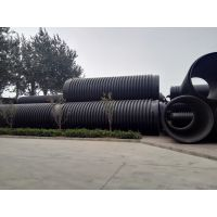 克拉管厂家生产高密度聚乙烯缠绕结构壁B型管、HDPE排水管