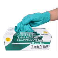 Ansell安思尔92-600一次性橡胶无粉超薄防滑医用手套