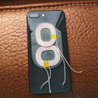 手机无线充横竖双线圈【安卓iPhone】A11无线充发射器线圈-带磁片
