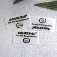 广州厂家定制服饰热转印烫画图案 衬衣领标烫唛 耐水洗不掉色