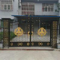 定制英山艺家铁艺大门欧式锻打庭院门进户门铁门金属不锈钢门15997386788