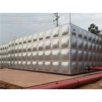 不锈钢水箱高层供水设备开封蓝海加工直销安全环保