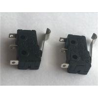 SUNTO微动开关 5A大电流 R型摆杆 小型微动厂家 CQC国际认证
