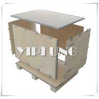 深圳木箱生产工厂 定做钢带箱 钢边木箱 可拆卸包装木箱 质量保证 货源稳定