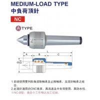 N台湾丽勋LI-HSUN 中负荷顶针NCD-MT.4
