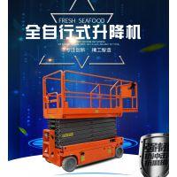 供应青海 自行走式升降机 电动液压自动升降台 载重300kg 质保一年