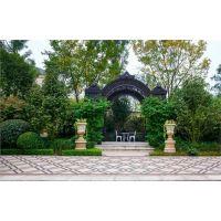 别墅花园设计|别墅花园设计多少钱|淄博别墅花园设计|大景供