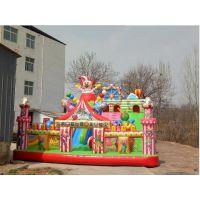 儿童玩具60平方城堡报价 充气淘气堡滑梯120平米价位 蹦蹦床城堡多少钱