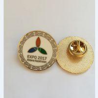 重庆专业定制滴胶徽章 高档金属校徽定做厂家