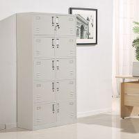 厂家直销十门更衣柜 铁皮文件柜 财务档案柜