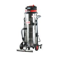 橱柜家具厂用吸尘器吸锯末粉尘木屑威德尔上下分离式工业吸尘器推吸两用