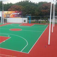深圳有做彩色羽毛球场的么 标准球场施工及画线 户外网球场地面施工