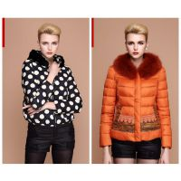 香港品牌宝莱国际羽绒服尾货 折扣羽绒服一手尾货市场