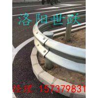 漯河许昌濮阳栾川钢板护栏乡村道路护栏配件立柱 省道国道护栏
