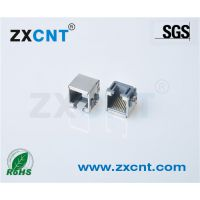 ZXCNT千兆RJ45沉板8.6MM网络接口网口母座