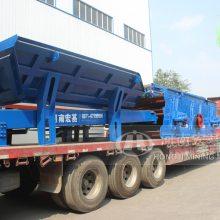 履带式移动建筑垃圾处理设备低价销售,迈向国际市场