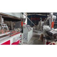 PVC石塑线条挤出生产设备@@SZJ65/132@@新锐塑机