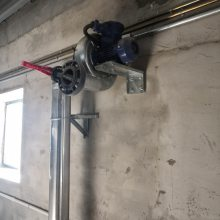 供应衡水得发盛DFS—05型不锈钢粮仓环流熏蒸系统 固定式内环流环流风机