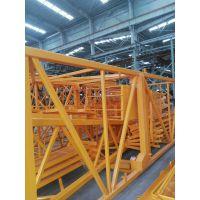 汕头QTZ80塔机臂长60米塔吊型号QTZ6012建筑塔吊