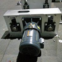 新型猪舍清洁设备 304不锈钢刮粪机 粪尿分离式不锈钢清粪机