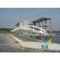 上海嘉定膜结构停车棚-上海嘉定膜结构车棚安装要点
