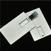 Credit Card Shapes Usb Flash Drive 3.0