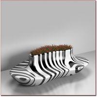 东莞厂家定制 玻璃钢心形休闲椅 创意等候座椅