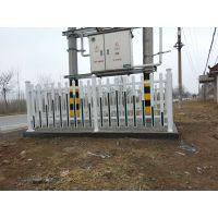 pvc塑钢变压器护栏、箱变围栏、pvc栅栏隔离栏