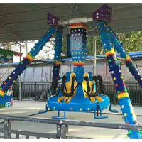 小摆锤6座 公园小摆锤游乐设备郑州宏德游乐供应
