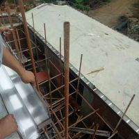 山东铝合金雨水槽安装别墅阳光房