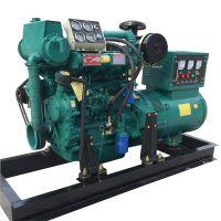 50KW船用柴油发电机组 带海水泵 带海淡水交换器 厂家直销 耗油低