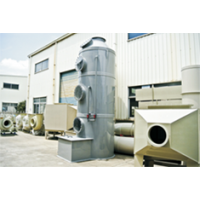 供应水喷淋净化塔全套环保设备