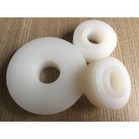 超高分子量聚乙烯滑轮 塑料耐磨滚轮 机械设备用耐磨轮