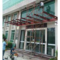 广州佛山学校遮阳棚,钢结构雨棚 ,膜结构车棚安装制作