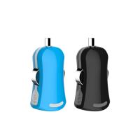 经典新颖款迷你MINI车载充电头,适用苹果IPHONE手机等移动电子数码设备创盈达工厂直供