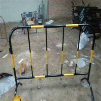 烤漆铁马护栏 红白铁马市政专用 公园停车场围栏 可定制