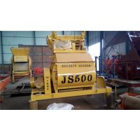 太仓天旺JS500型多搅拌臂低支腿双轴搅拌机价格