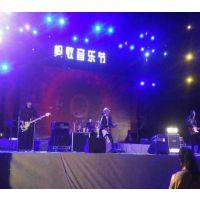 广州白云区活动策划制作音响舞台背景架LED屏搭建
